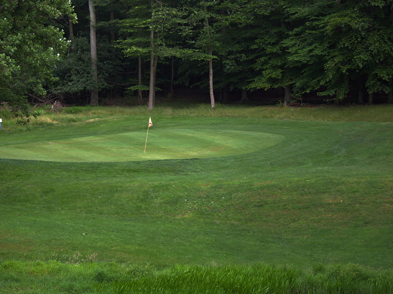 View of seventeenth hole from the tee. Click to enlarge