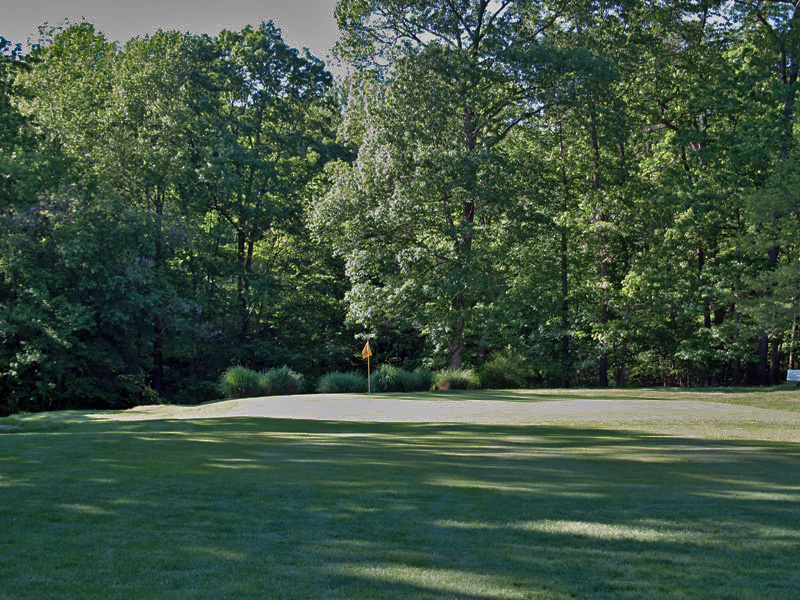 View of third hole toward the green. Click to enlarge